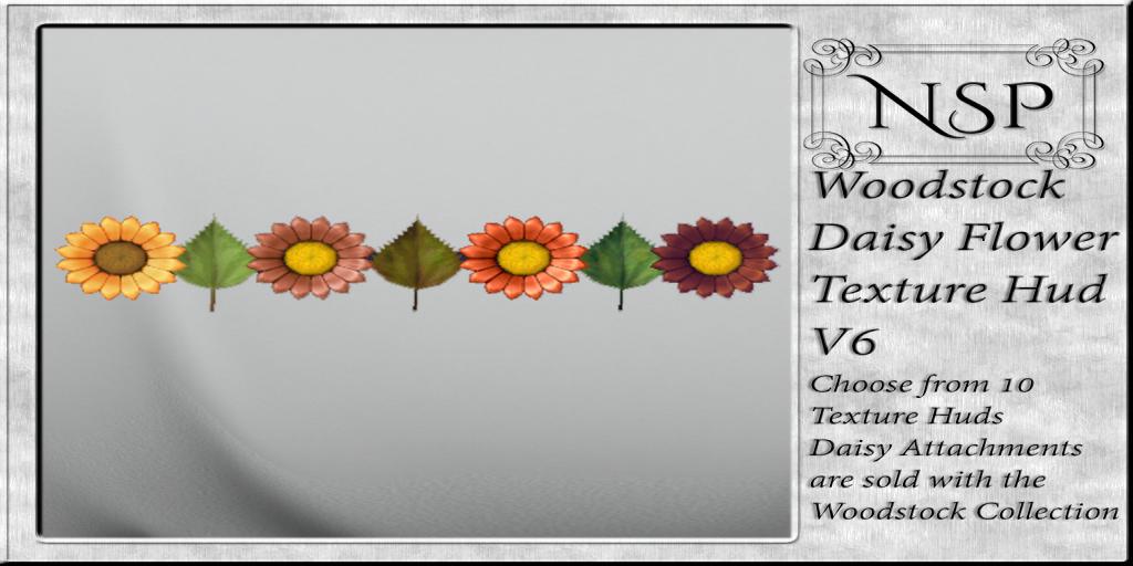 NSP Woodstock Daisy Texture Hud - V6